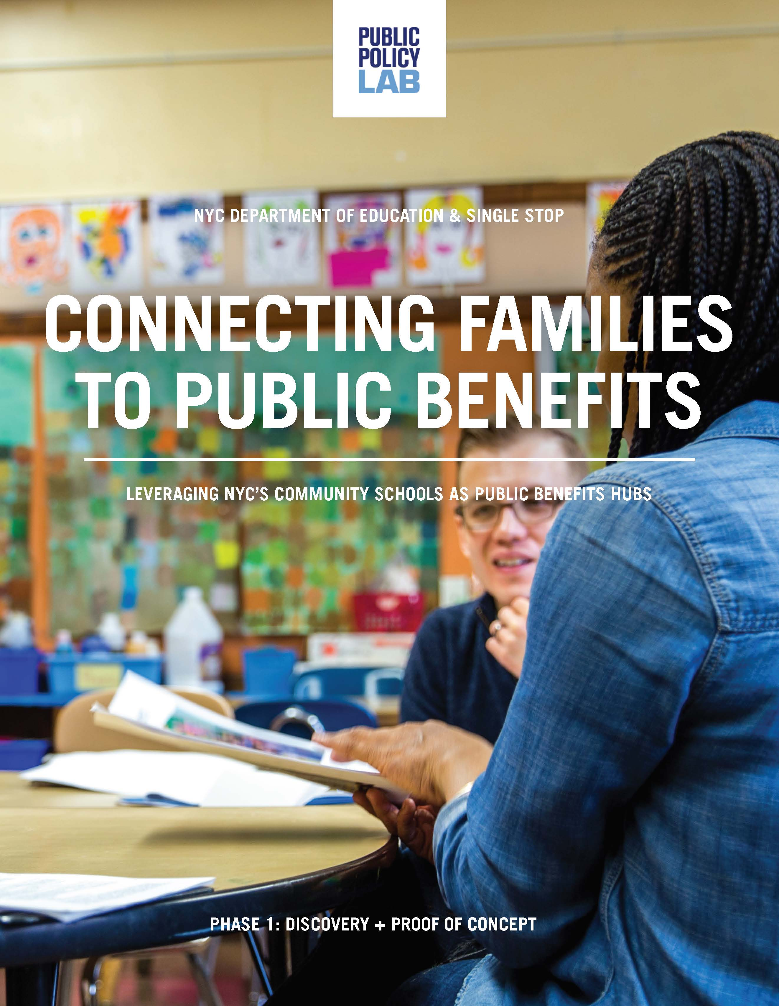 Connecting Families to Public Benefits