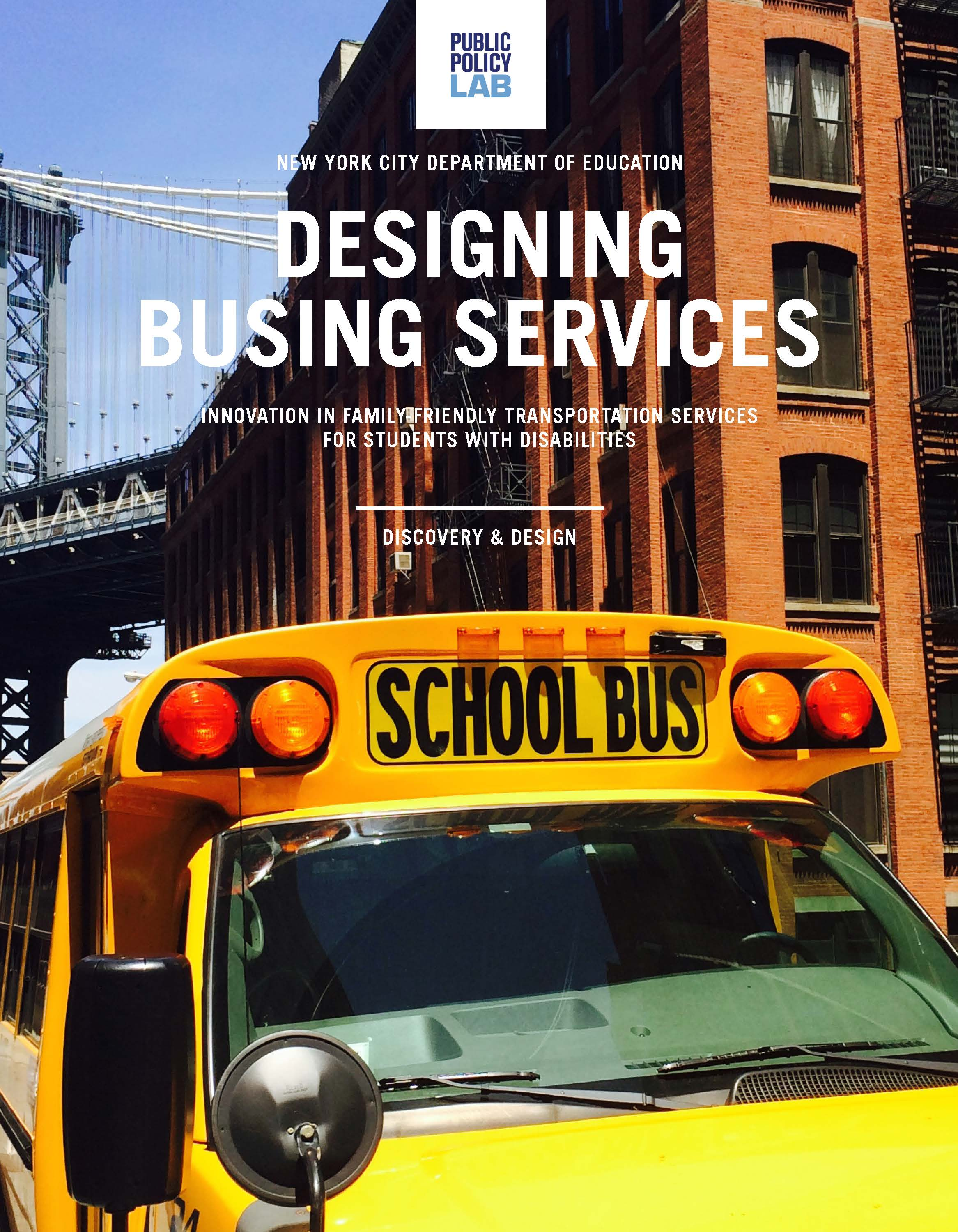 Designing Busing Services