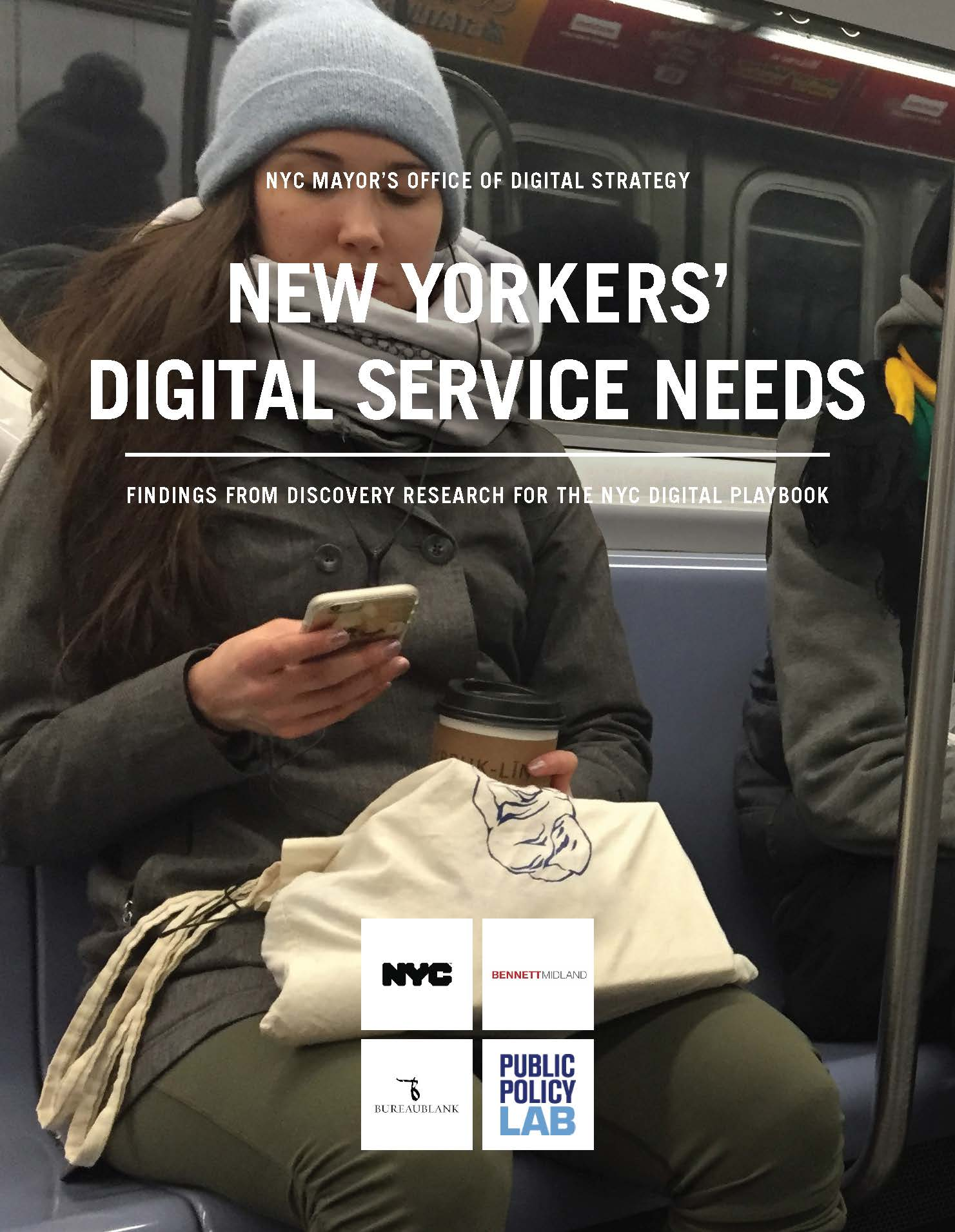 New Yorkers' Digital Service Needs