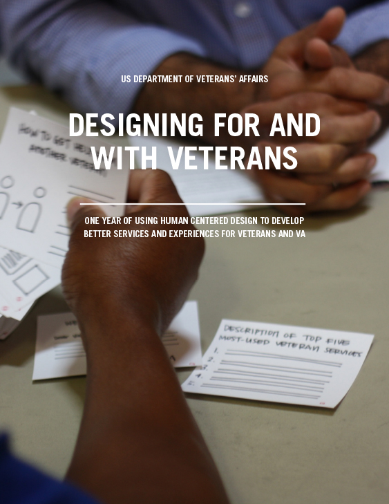 Designing for and with Veterans